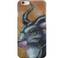 Malefibunny - Jackalope Priestess iPhone Case/Skin