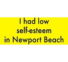 I Had Low Self Esteem - Arrested Development Photographic Print