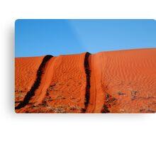 Up and Over,Madigan Line Simpson Desert Metal Print