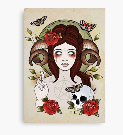 Pagan Goddess Canvas Print