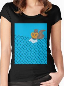 New York Squirrel Women's Fitted Scoop T-Shirt