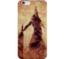 Silent Hill Pyramid Head Illustration iPhone Case/Skin