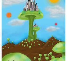 Mushtropolis the Mushroom City by Forefox