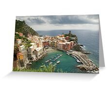 Vernazza Greeting Card