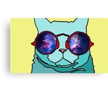 Cartoon Cat Canvas Print