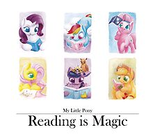 Reading is magic by Pa-Kalsha