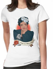 Billie Holiday Womens Fitted T-Shirt