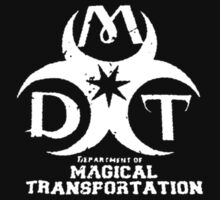Department of Magical Transportation Badge - White by Serdd