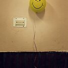 Mr Happy by Damian Harding