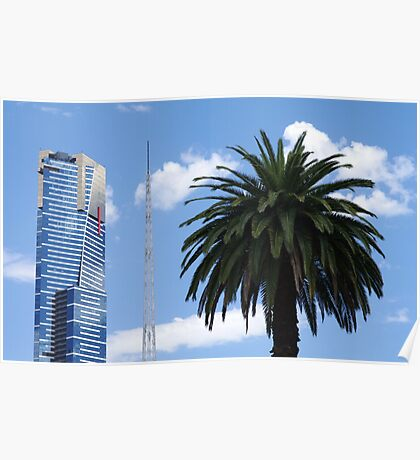 A Trio of Melbourne's Icons Poster