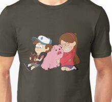 Gravity Falls - Simple Unisex T-Shirt