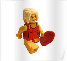 LEGO Sexy Lifeguard Poster