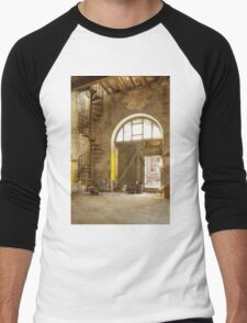 The downward spiral Men's Baseball ¾ T-Shirt