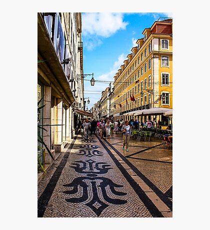 Rua Augusta, Lisbon Photographic Print