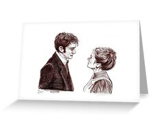 """Human Nature"" Doctor Who Inspired Sketch Greeting Card"