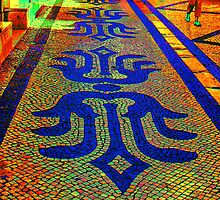 Green Shoes Rua Augusta by Wrayzo
