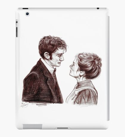 """""""Human Nature"""" Doctor Who Inspired Sketch iPad Case/Skin"""