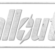Fallout 4 Logo [BEST QUALITY] Sticker