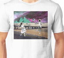 Moon Tennis Unisex T-Shirt