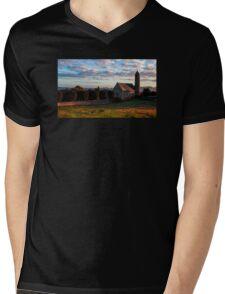 St. Patrick and Saul Church Mens V-Neck T-Shirt