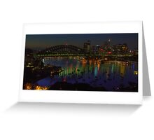 Night Light - Moods Of A City - The HDR Experience Greeting Card