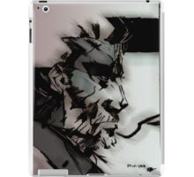 Solid not Naked iPad Case/Skin