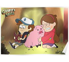 Gravity Falls - Background Poster