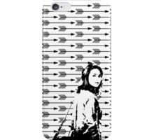 Allison Argent Arrows iPhone Case/Skin