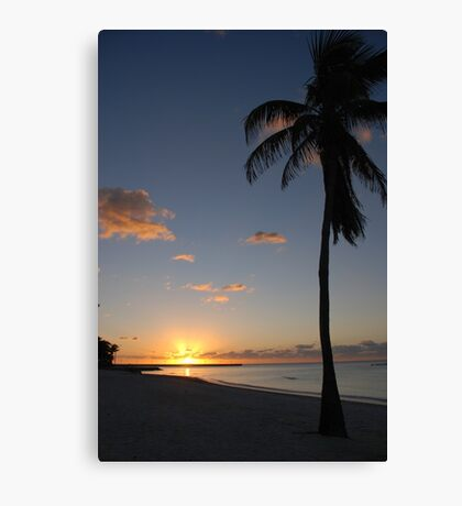 Another pretty sunrise in Key West FL Canvas Print