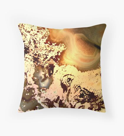 Melted Moments Throw Pillow