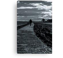A Stroll Away Canvas Print