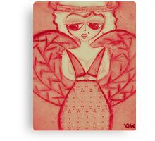 pink sherry Canvas Print