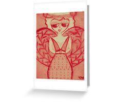 pink sherry Greeting Card