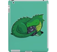 D20 Green Dragon iPad Case/Skin