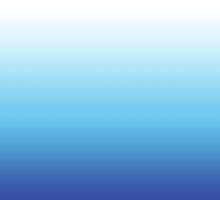 Blue Dip Dye - Ocean Blue Ombre by OmbrePrint