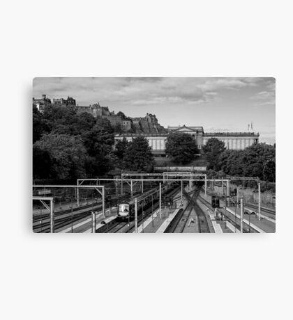 Edinburgh Express Canvas Print