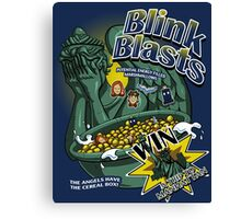 Blink Blasts Canvas Print