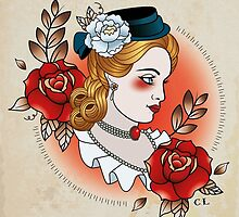 Victorian Lady by Cale Lobba