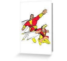 Shazam! Greeting Card
