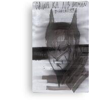 Batman de Tagalog Canvas Print