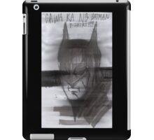 Batman de Tagalog iPad Case/Skin