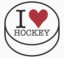 I love Hockey by Roberto Irace