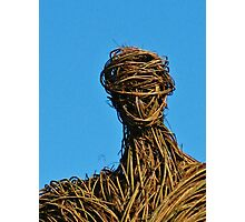 Sir Christopher Lee, RIP ~ Good-bye, Wicker Man Photographic Print