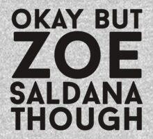 Zoe Saldana by eheu