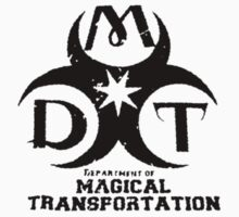 Department of Magical Transportation Badge - Black by Serdd