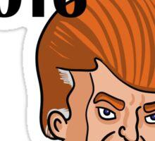 VOTE THE HAIR Sticker
