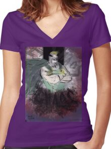 I am Chaos Incarnate! Women's Fitted V-Neck T-Shirt
