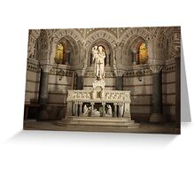 altar Greeting Card