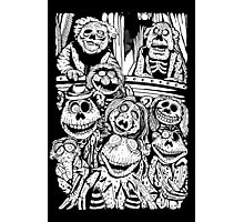 Zombie Puppet Theater Photographic Print