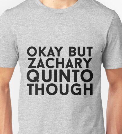 Zachary Quinto Unisex T-Shirt